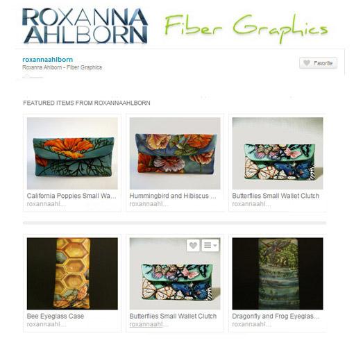 Etsy store of Roxanna Ahlborn, accessories
