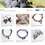 Etsy store Wine Country Charms - jewelry category