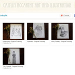 Etsy store of Caitlin McCarthy, Drawings