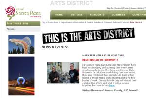 Arts District of Downtown Santa Rosa