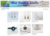 Etsy store of Melinda Talbot, Blue Banana Studio