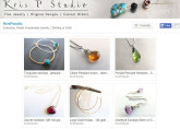 Etsy store of Kristel Phears, jewelry