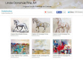 Etsy store of Linda Donohue - paintings