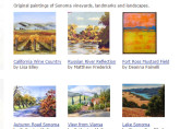 Sonoma Wine Country Paintings