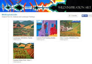 Wild Inspiration Art, by Kathleen Fitzpatrick, Etsy shop