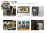 Attic22, Etsy shop