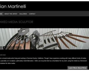 Brian Martinelli, sculpture